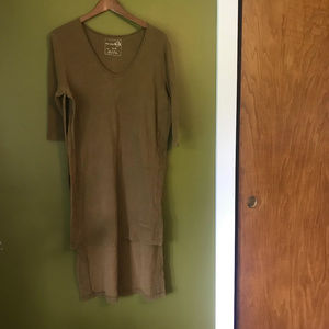 Free People Oversized Side Split Tunic
